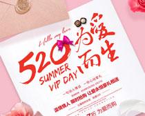 520为爱而生购物海报设计PSD素材