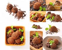 冰淇淋巧克力食物摄影高清图片