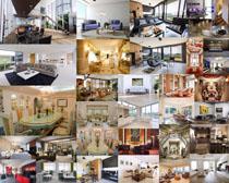 别墅室内风格设计展示拍摄高清图片