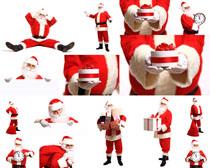 圣誕老人之禮物攝影高清圖片