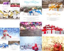 圣誕節禮物節日攝影高清圖片