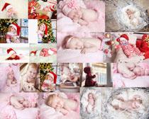 圣诞节宝宝写真拍摄高清图片