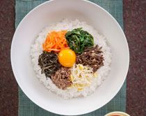 韩国营养饭食物PSD素材