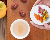 韩国红枣营养泡菜PSD素材