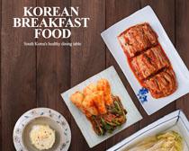 精致的韩国泡菜海报PSD素材