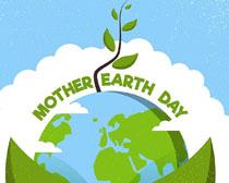 国际地球日环境保护矢量素材