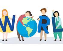 世界和平地球人类矢量素材