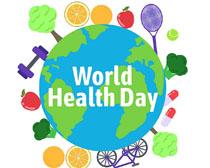 健康环保地球矢量素材
