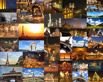 欧美城市建筑塔摄影高清图片