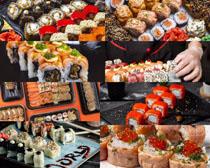日本美食各种寿司拍摄高清图片