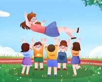 庆祝教师节节日快乐PSD素材