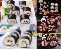日本寿司食物展示摄影高清图片
