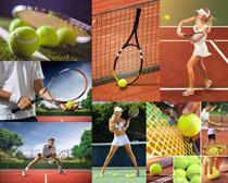 体育运动网球男女摄影高清图片