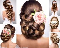 欧美女子发型展示摄影高清图片