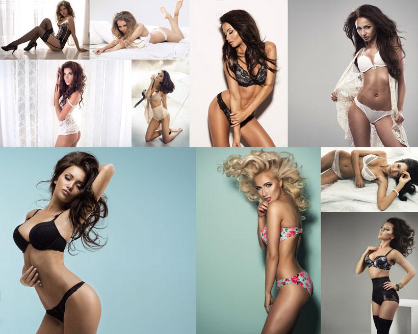 国外美女内衣写真模特摄影高清图片