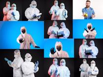 国外医护人员摄影高清图片