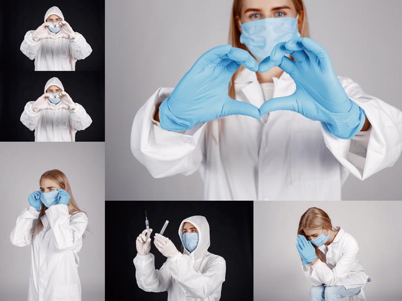 国外爱心医生摄影写真高清图片