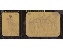 经典神话人物线描素材5款