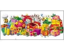 圣诞礼物素材包