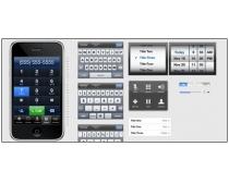 手机键盘图标psd分层素材