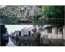 5张巨幅江南水乡风景图片素材