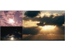 50张天空云彩写实图片素材