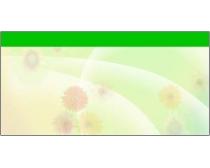 9张花朵背景展板底图psd分层素材