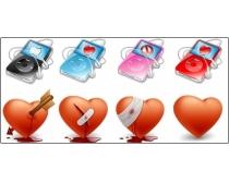 情人节图标素材