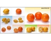 17张柠檬橙子桔子高清图片素材