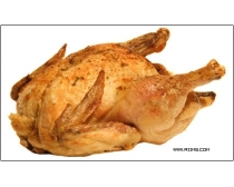 8张烤鸡高清图片素材