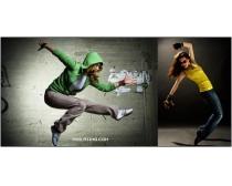 3张高清潮流跳舞女性图片素材