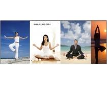 19张瑜伽主题高清图片素材