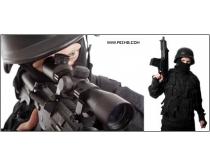5张军事射击高清图片素材
