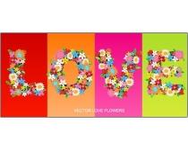 Love»¨»·×ÖÌåʸÁ¿ËزÄ