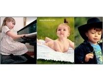 36张高清国外儿童人物图片素材