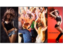 15张激情舞蹈与派对时时彩娱乐网站素材