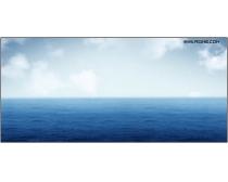 蓝天大海风景图片素材