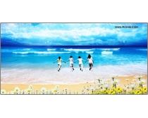 大海风光风景图片素材