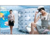 服装广告设计psd分层素材