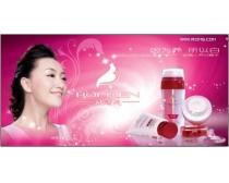 美白化妆品海报设计素材