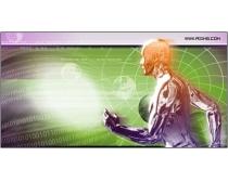 背景 素材/数字化科技信息背景素材
