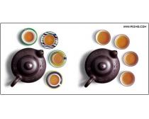 茶杯茶壶psd分层素材