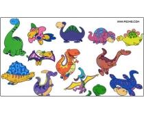 高清卡通恐龙图片素材