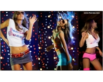 7张高清激情舞者图片素材Dancers