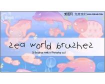 ���������ˢ-Sea world Brushes