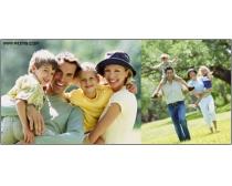 20张高清幸福家庭图片素材