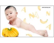 {水果宝宝}跨页儿童模板05