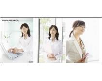 45张高清职业办公女性图片素材