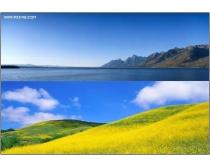 12张高清宽幅风景图片素材