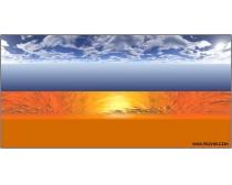 4張巨幅天空風景圖片素材